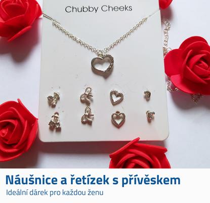 Sada šperků - srdce