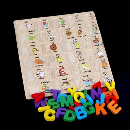 dřevěná písmena