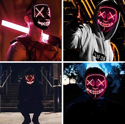 Děsivá maska