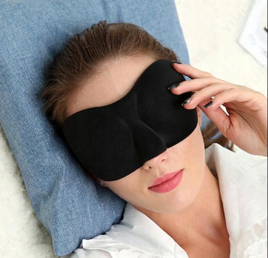 Maska na oči na spaní