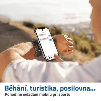 držák na mobil na ruku