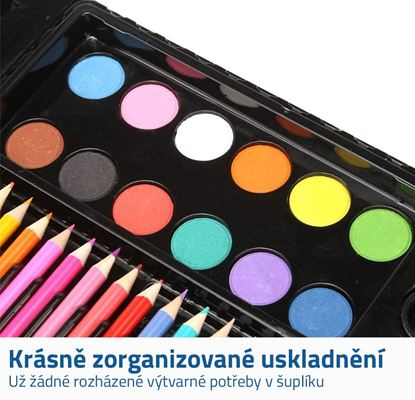 Kufřík s pastelkami