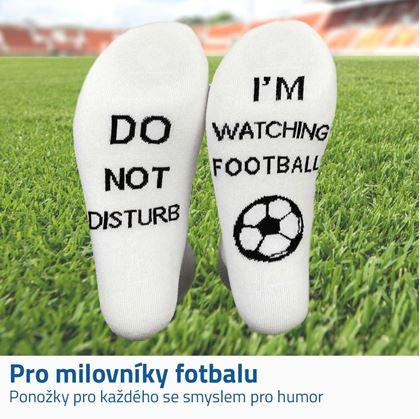 Ponožky nerušit fotbal