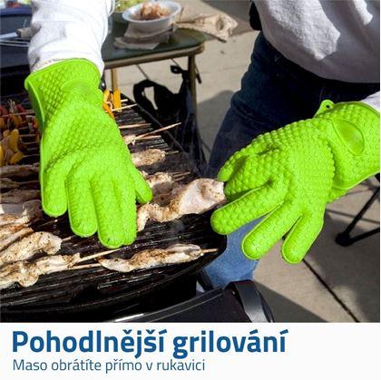 Silikonové rukavice