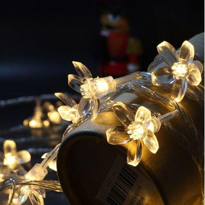 Svítící řetěz do interiéru
