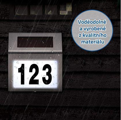 číslo popisné na dům