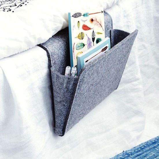 Organizér na postel