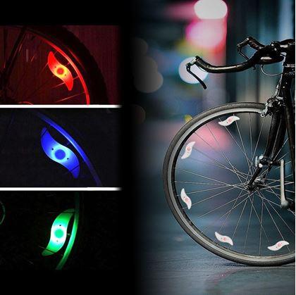 světlo na kolo