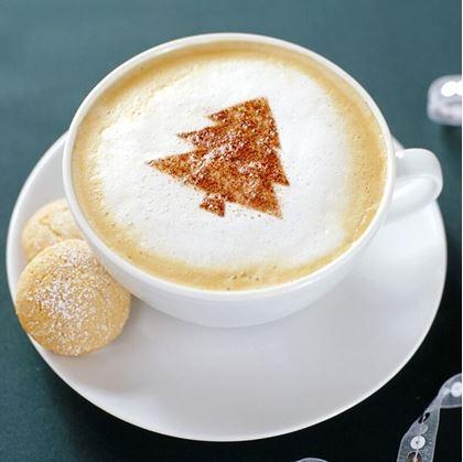 zdobení kávy
