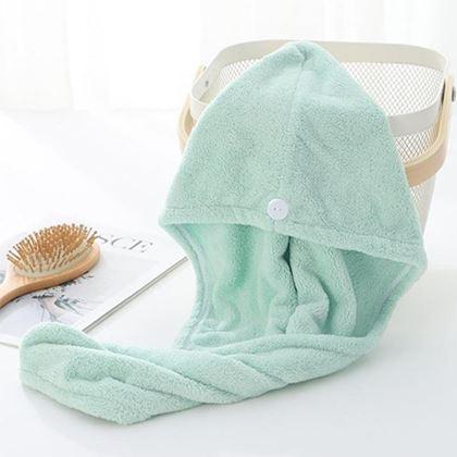 turban na mokré vlasy