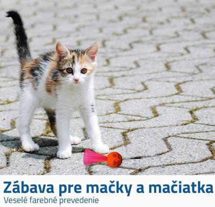Loptička pre mačky