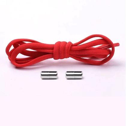 Elastické samozavazovací tkaničky - červené