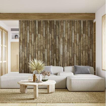 Omyvatelná tapeta dřevo