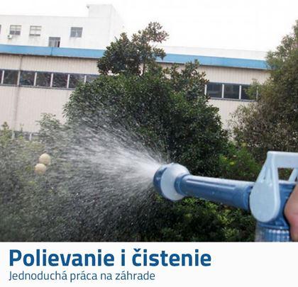 Záhradné vodné pištole
