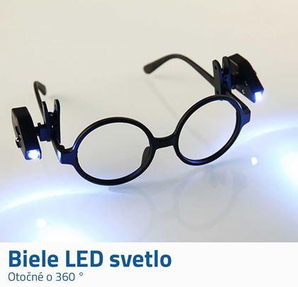 Svetlo na okuliare