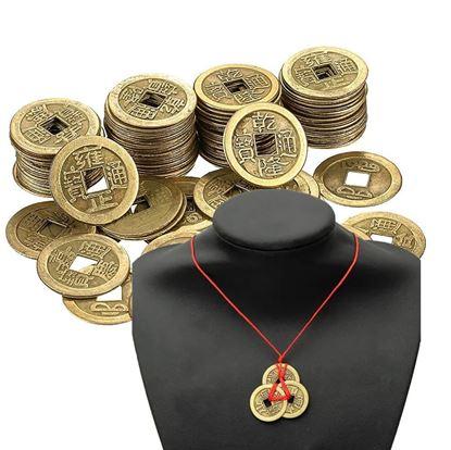 Čínská mince štěstí