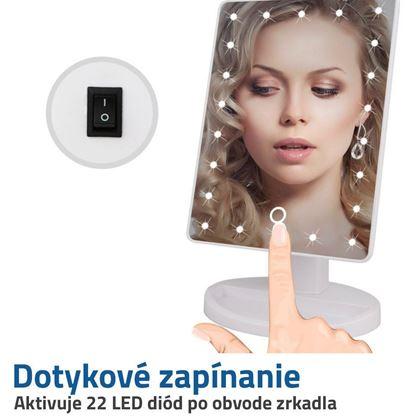 kozmetické zrkadielko