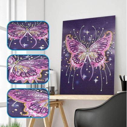 Diamantové malování speciální - motýl