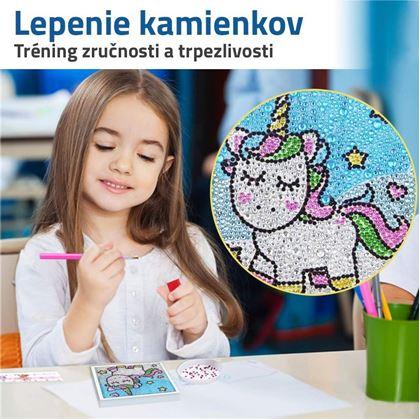 diamantové maľovanie pre deti