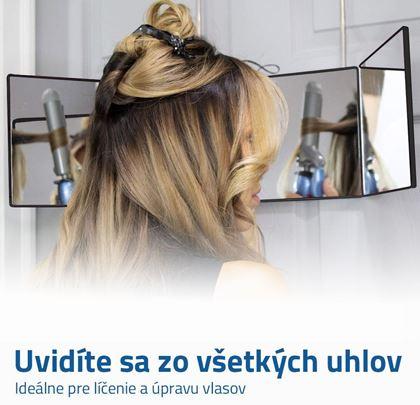 Nastaviteľné zrkadlo