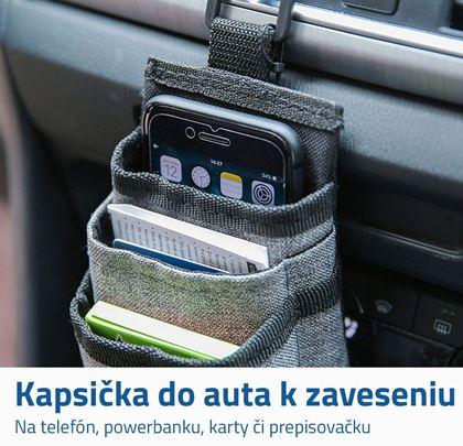 Závesná vrecko do auta