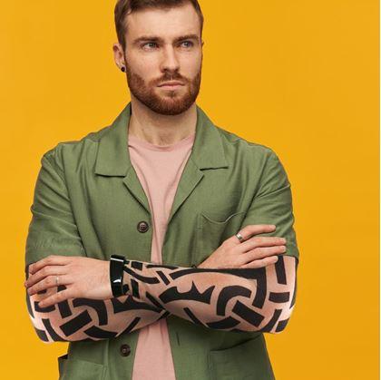 falešné tetování návleky na ruce
