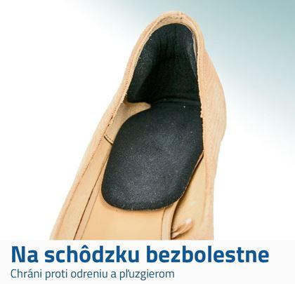 Gélové vložky do topánok