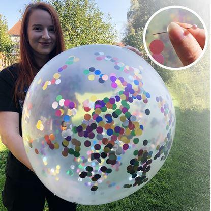 Konfetový balónek